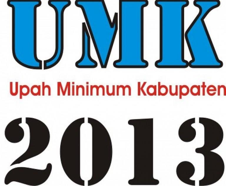UMK Kabupaten/Kota di Jawa Barat Tahun 2013