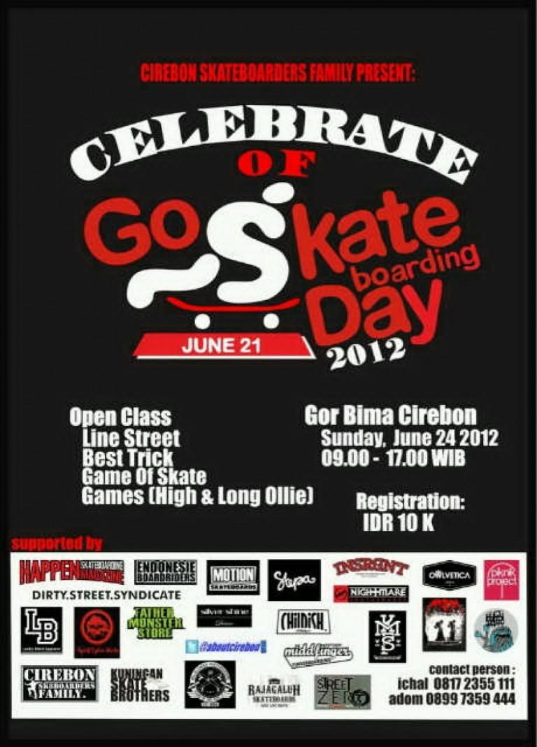 Celebrate of Go Skare Boarding Day ; Minggu 24 Juni 2012