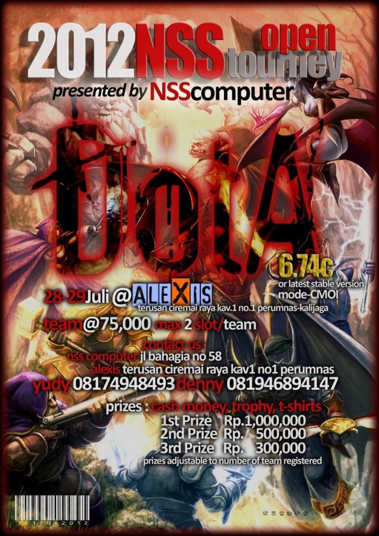 Dota Tournament NSS Computer Cirebon 28 – 29 Juli 2012
