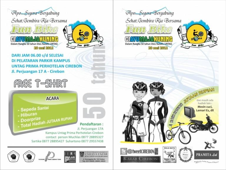 Fun Bike Untag Prima ; Minggu 20 Mei 2012