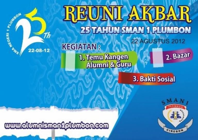 Reuni Akbar SMAN 1 Plumbon : 22 Agustus 2012