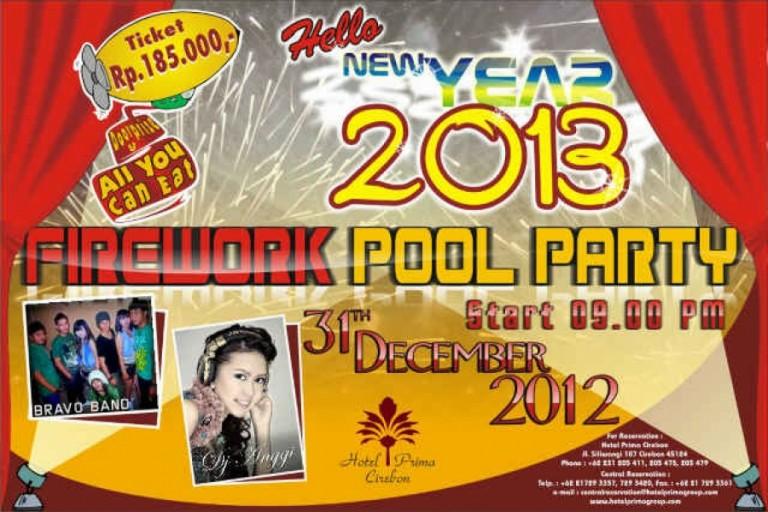 Fireworks Party di Hotel Prima 31 Desember 2012