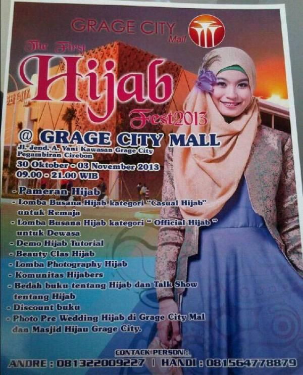 First Hijab Fest 2013 di Grage City Mall