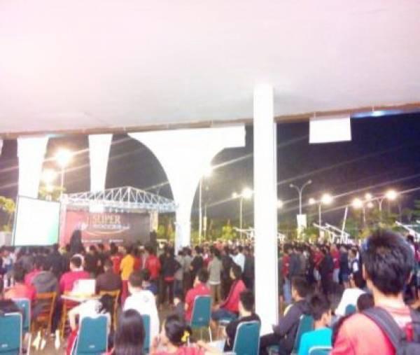 Big Match MU VS Liverpool Ramaikan Grage City Mall