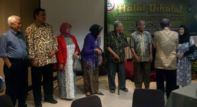 Jalin Silaturahmi, IDI dan IIDI Cabang Cirebon Gelar Halal Bihalal