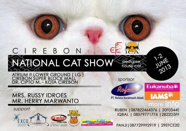 ICA FIFe – Cirebon National Cat Show