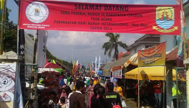 Sambut May Day, Pemkab Cirebon Gelar Job Fair 2014