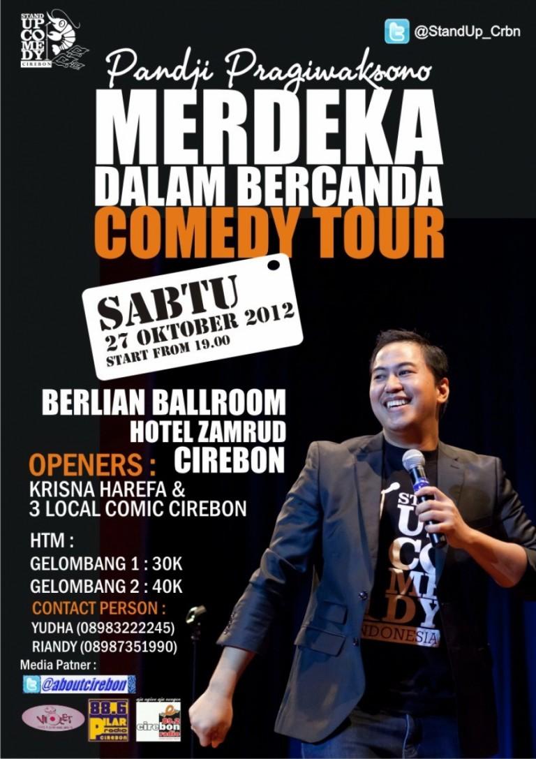 Stand Up Comedy w/ Pandji Pragiwaksono ; 27 Oktober 2012