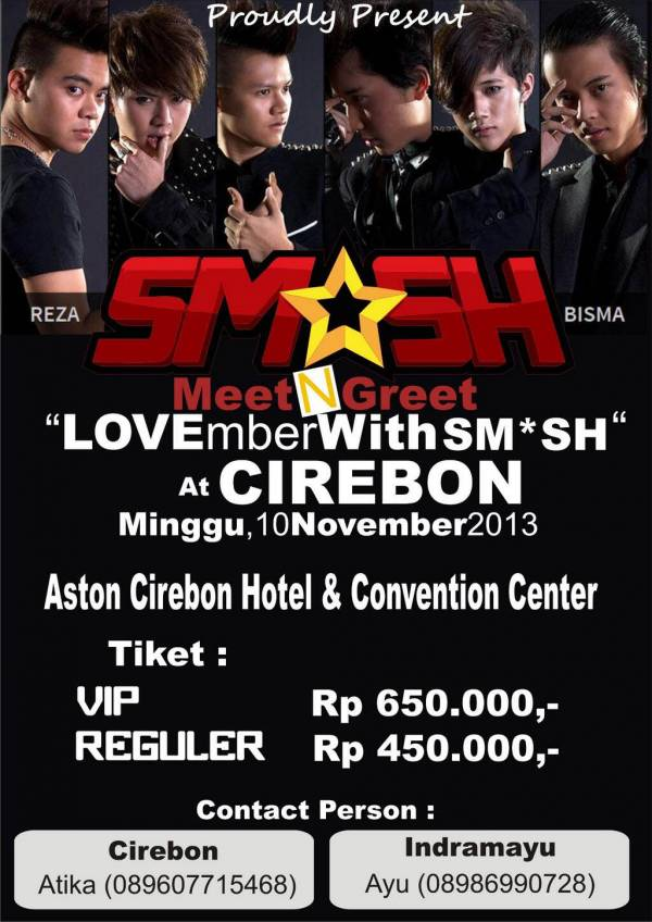 Lovember with Sm*sh Indonesia, 10 November 2013