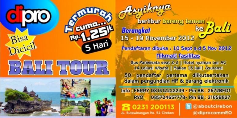 Bali Tour Bersama Diprocomm