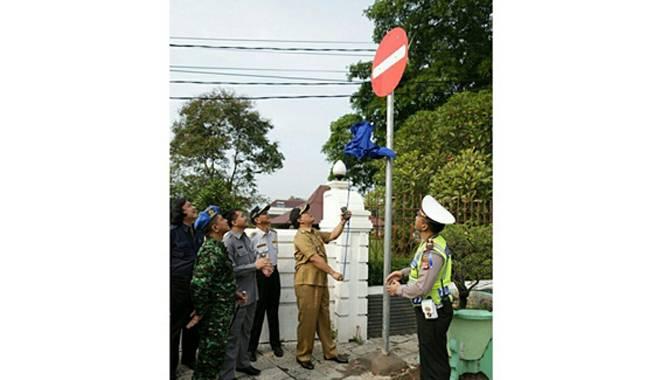 One Way Jalan Kartini Hanya Bertahan 40 Hari, Mulai Sabtu Kembali Jadi 2 Jalur