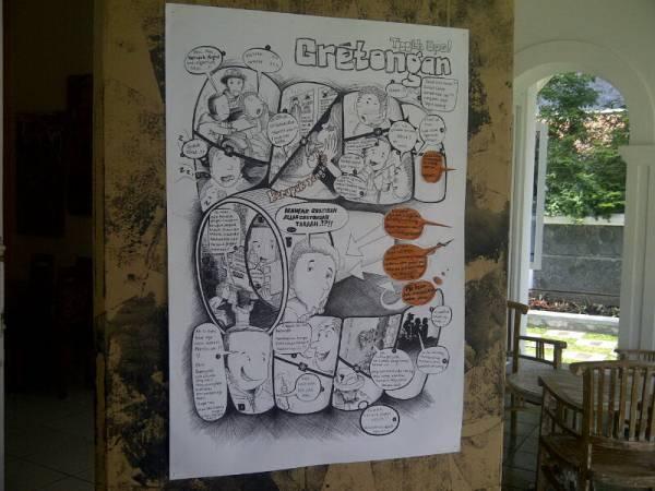 KPSDC Gelar Pameran Komik Strip di Umah Kebon Metland Cirebon