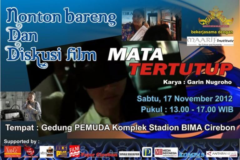 Roadshow Film Mata Tertutup di Gedung Pemuda 17 Nopember 2012