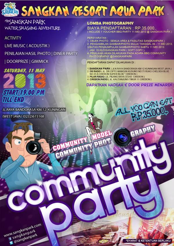 Sangkan Park Adakan Lomba Photography dan BBQ Community Party Photography and Model