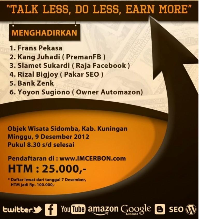 Gathering Internet Marketing Ciayumajakuning 9 Desember 2012
