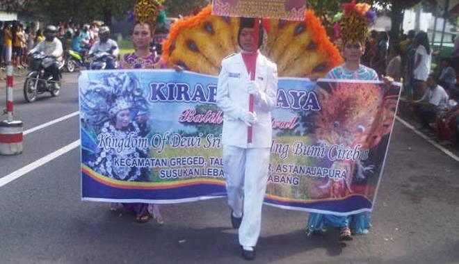 Kirab Budaya dan Carnival Batik Ramaikan Hari Jadi Kabupaten Cirebon