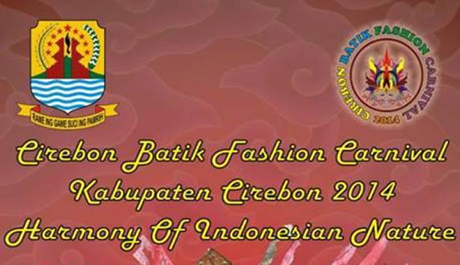 Kabupaten Cirebon Gelar Fashion Batik Carnival 2014