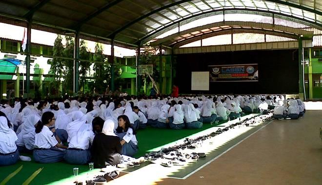 SMAN 1 Kota Cirebon Gelar Deklarasi Sekolah Bebas Narkoba Bersama BNN