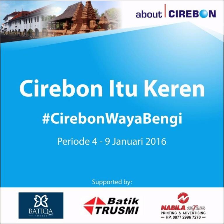 About Cirebon Gelar Program Cirebon Itu Keren