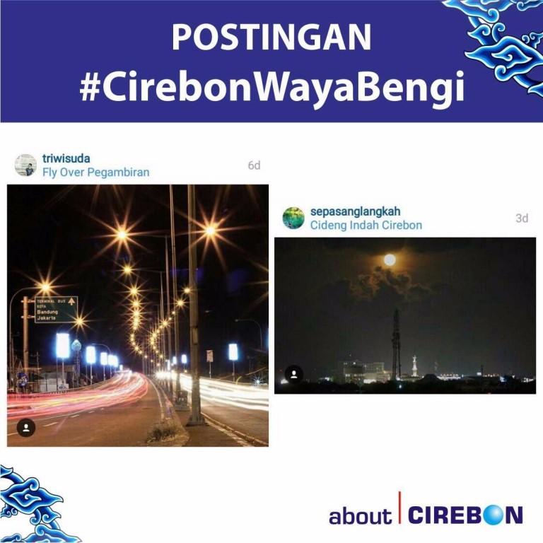 Triwisuda dan Sepasanglangkah Menangi Hastag #CirebonWayaBengi