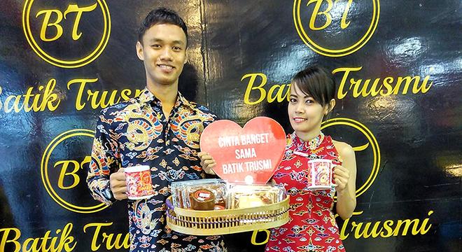 Jelang Perayaan Imlek dan Valentine's Day Pusat Grosir Batik Trusmi Tebar Promo Penuh Cinta
