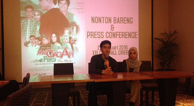 "Nonton Bareng Film ""Ketika Mas Gagah Pergi"" di XXI CSB Mall Cirebon"