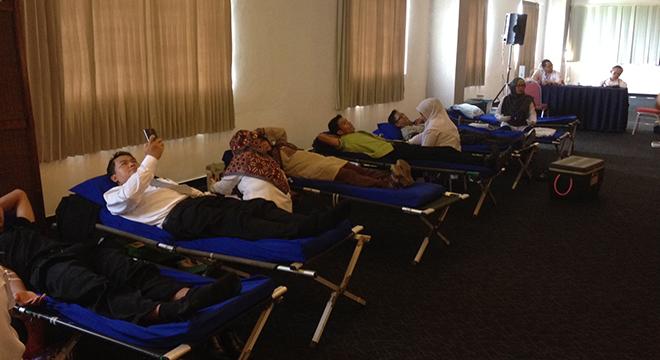 Aston Hotel Cirebon Gelar Donor Darah