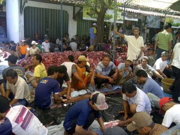 Masjid Bodelor Plumbon Sembelih Hewan Kurban 27 Sapi dan 82 Kambing