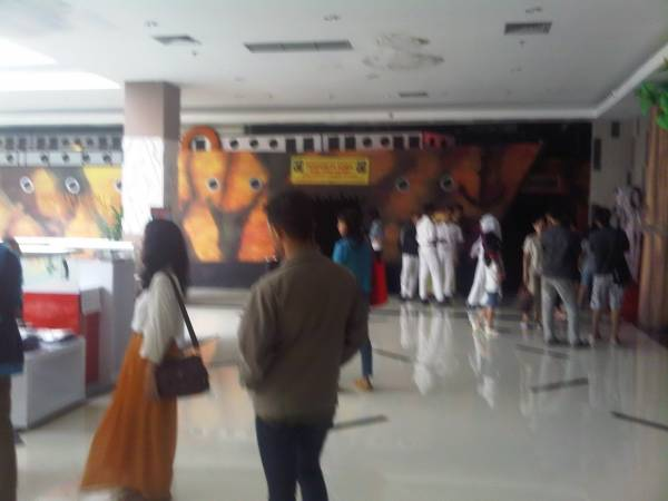 Wisata Adrenalin dan Wahana Kapal Hantu Titanic Hadir di Grage City Mall
