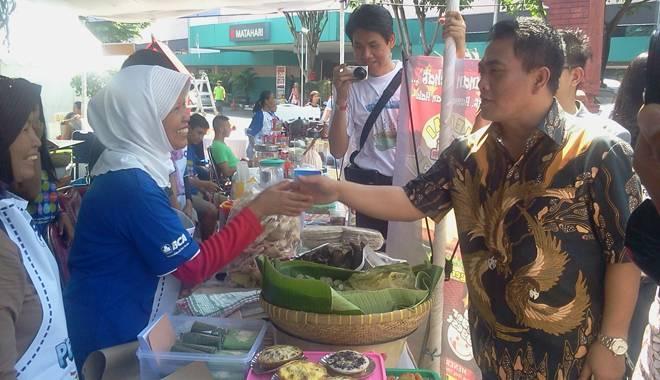 Di Festival Kuliner BCA, Wakil Walikota Cirebon Suka Sambel Asem