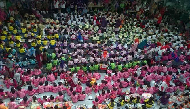 Grage City Mall Bersama IGTKI Peringati Hari Pendidikan Nasional