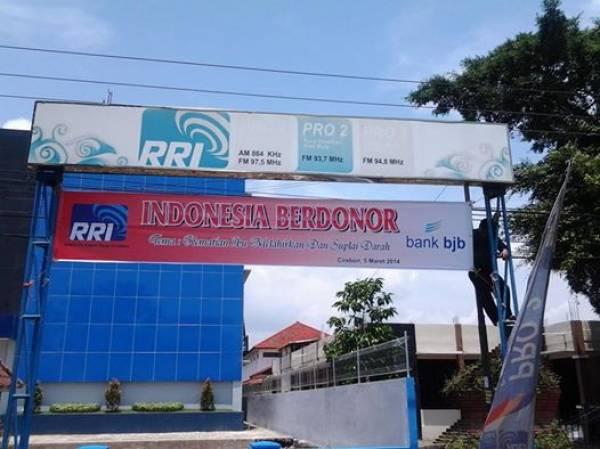 Hari Ini, LPP RRI Cirebon Gelar Indonesia Berdonor Secara Nasional