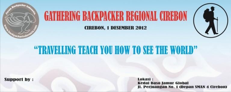 Gathering Backpacker Regional Cirebon 1 Desember 2012