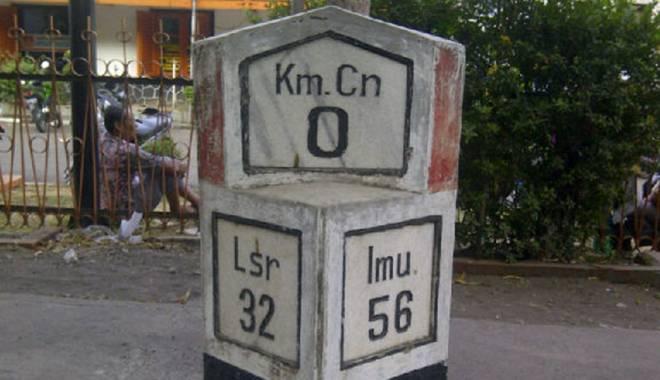 Tahukah Anda Letak Titik Nol KM Kota Cirebon?