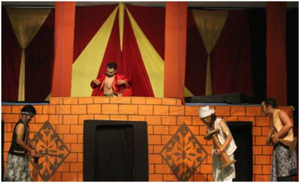 UKM Teater Pecut Gelar Pentas Drama di IAIN Cirebon