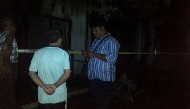 Diduga Korsleting Listrik Rumah Dan Toko Kelontong Di Tengah Tani Cirebon Ludes Terbakar