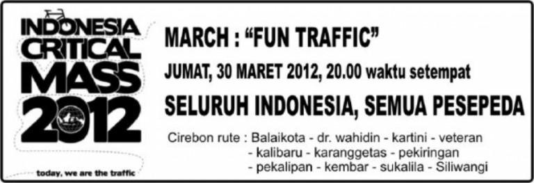 March : Fun Traffic : 30 Maret 2012