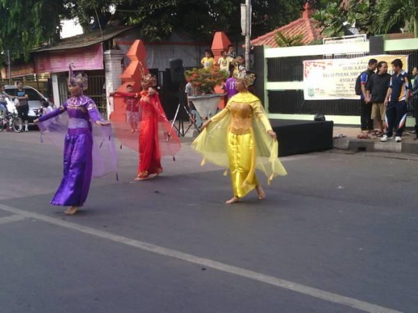 Car Free Day, Tempat Berkreasi Pelajar di Kota Cirebon