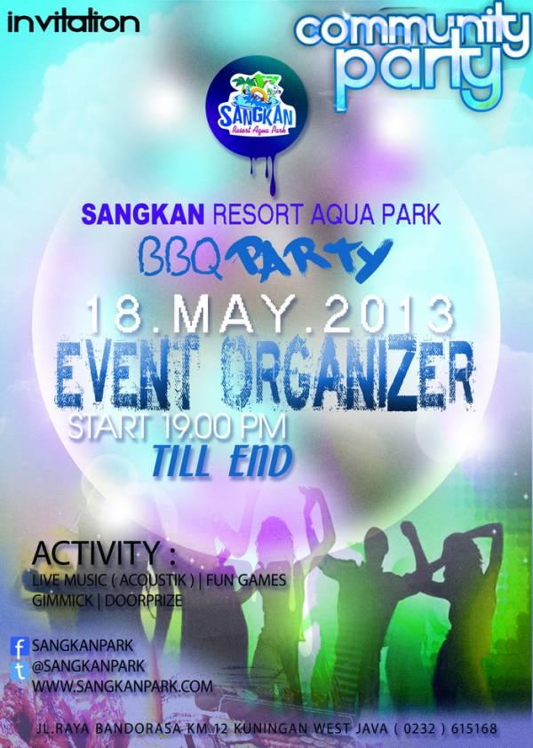 18 Mei, BBQ Community Party Bersama Event Organizer di Sangkan Park