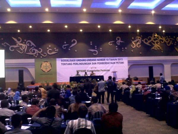 Kementerian Pertanian dan DPR RI Gelar Sosialisasi Undang – Undang tentang Perlindungan dan Pemberdayaan Petani di Cirebon