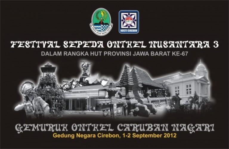 Festival Sepeda Onthel Nusantara III : 1 – 2 September 2012