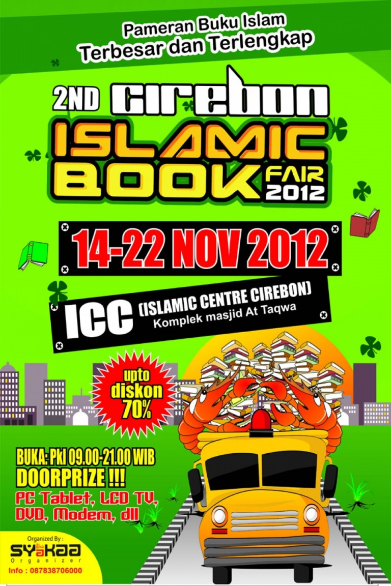 Islamic Book Fair di Islamic Center Cirebon 14 – 22 Nopember 2012