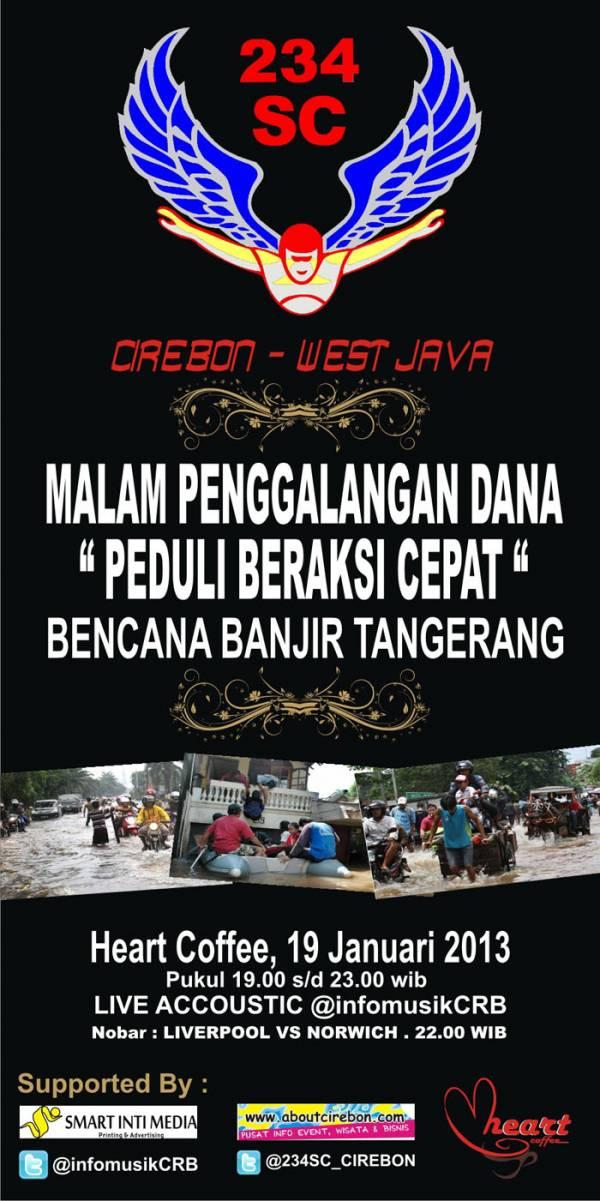 Malam Penggalangan Dana untuk Banjir Tangerang