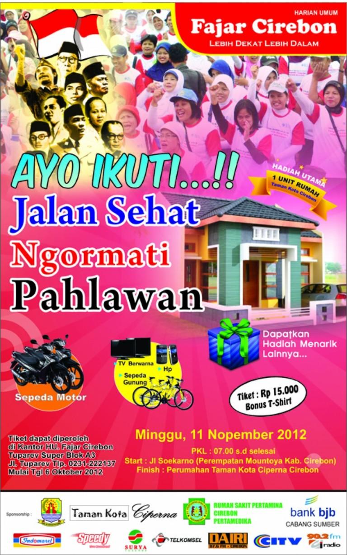Jalan Santai Ngormati Pahlawan 11 Nopember 2012