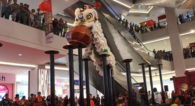Meriahkan Tahun Baru Imlek, CSB Mall Gelar Kegiatan Sepanjang Februari