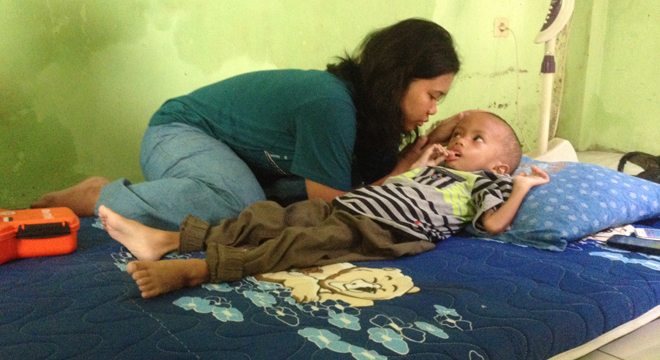 Kasihan, Bocah 3 Tahun Pengidap Hydrocephalus Kian Membesar