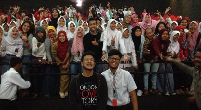 Penggemar Dimas Anggara di Cirebon Sangat Antusias
