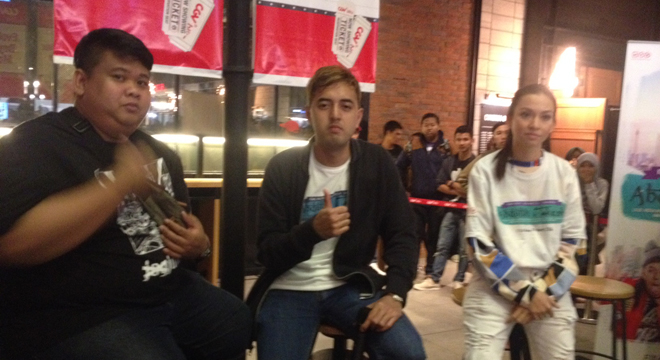 Serunya Meet and Greet Bersama Pemain Film Abdullah v Takeshi di CGV Blitz Cirebon