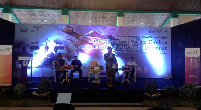 Seminar Pariwisata Pesona Cirebon Digelar di Bangsal Pagelaran Keraton Kasepuhan