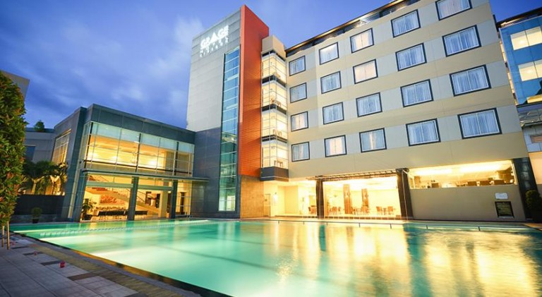 Lily dan Lotus Pool Grage Hotel Cirebon Terbuka Untuk Umum